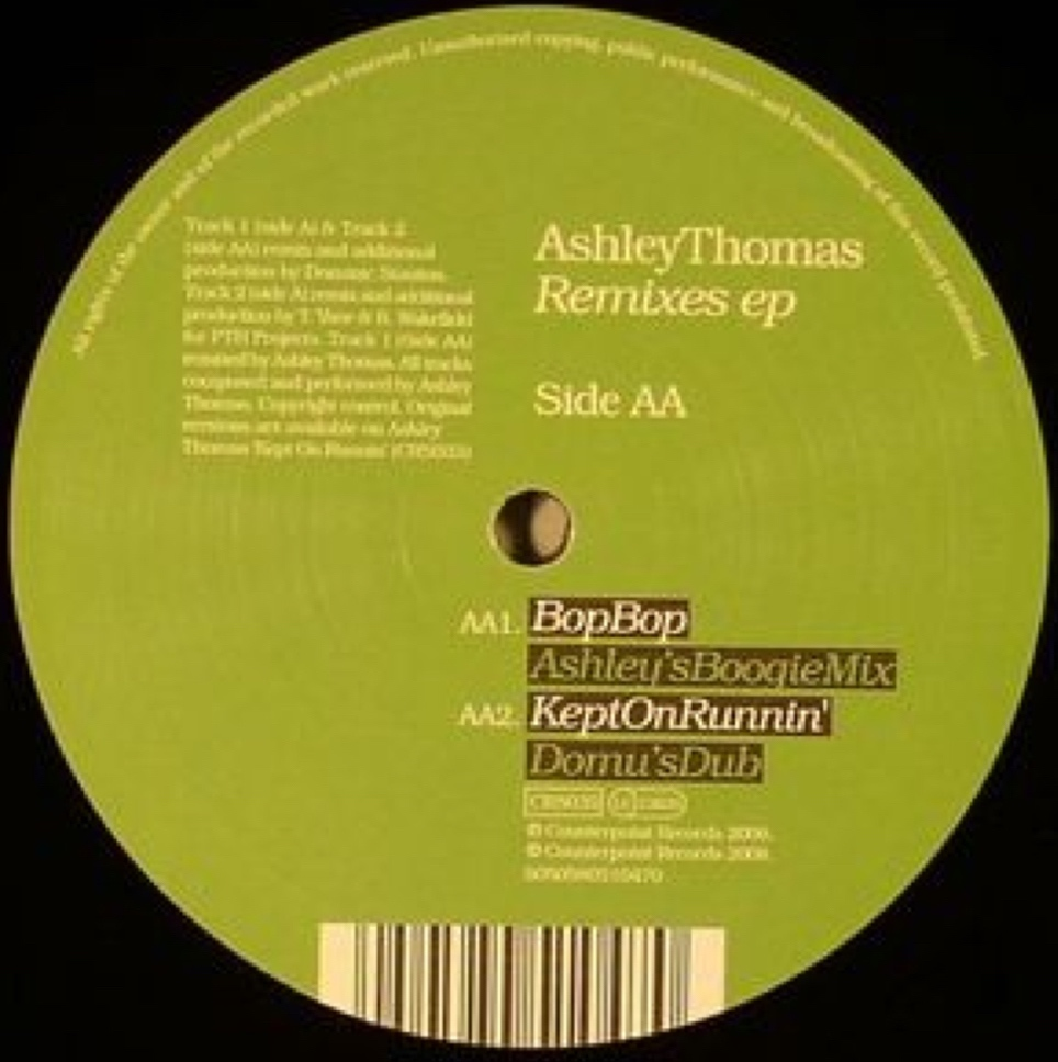 Ashley Thomas - Bop Bop (Ashley's Boogie Mix)