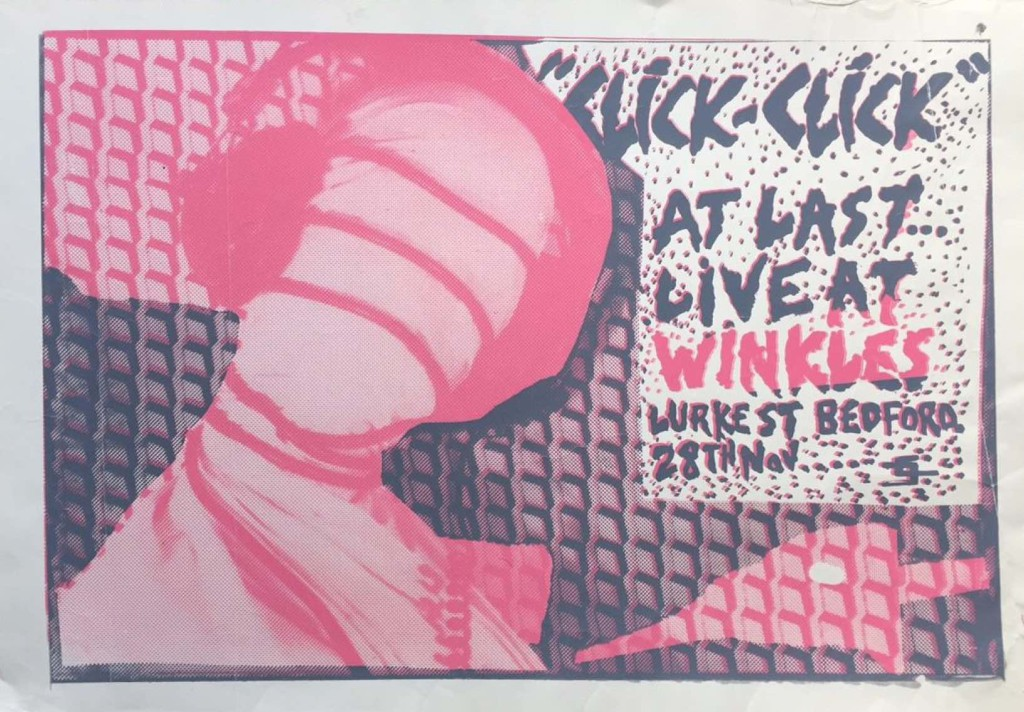 Click Click, Winkles 28.11.84 poster