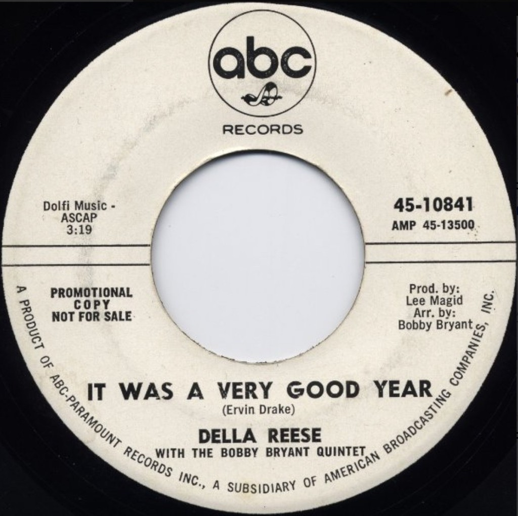 Della Reese - It Was A Very Good Year