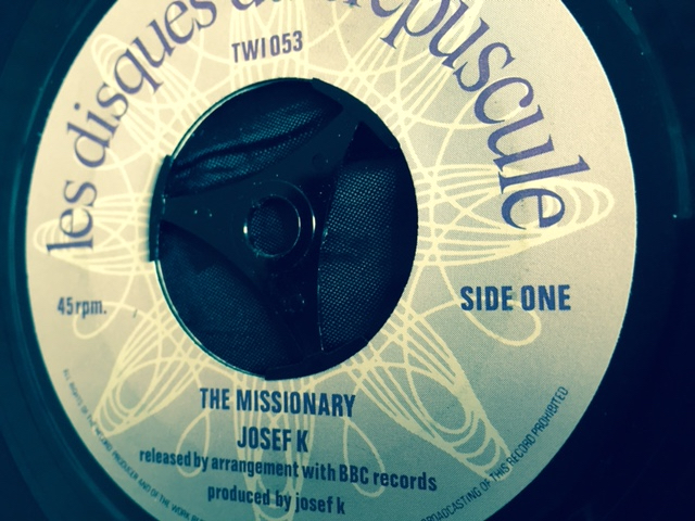 Josef K - The Missionary