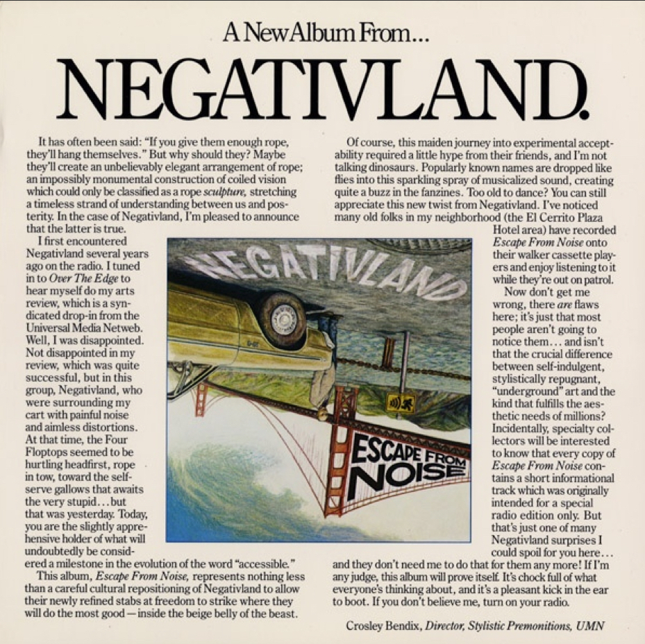 Negativland - You Don't Even Live Here