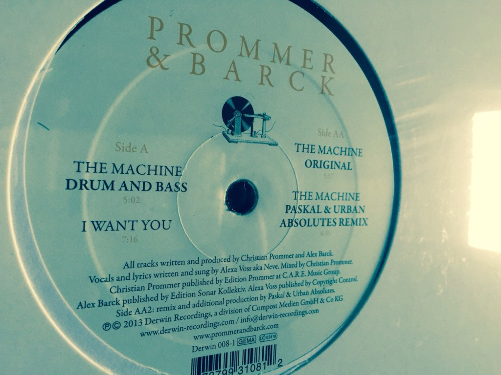 Prommer & Barck - The Machine (Original) 12""