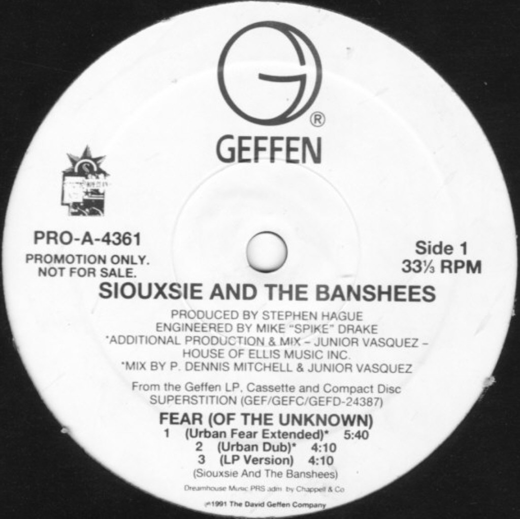 Siouxsie and the Banshees - Fear (Of The Unknown)