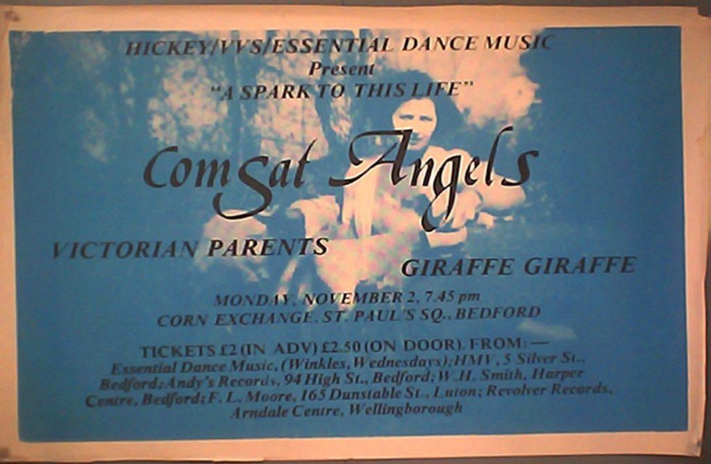 Comsat Angels Poster
