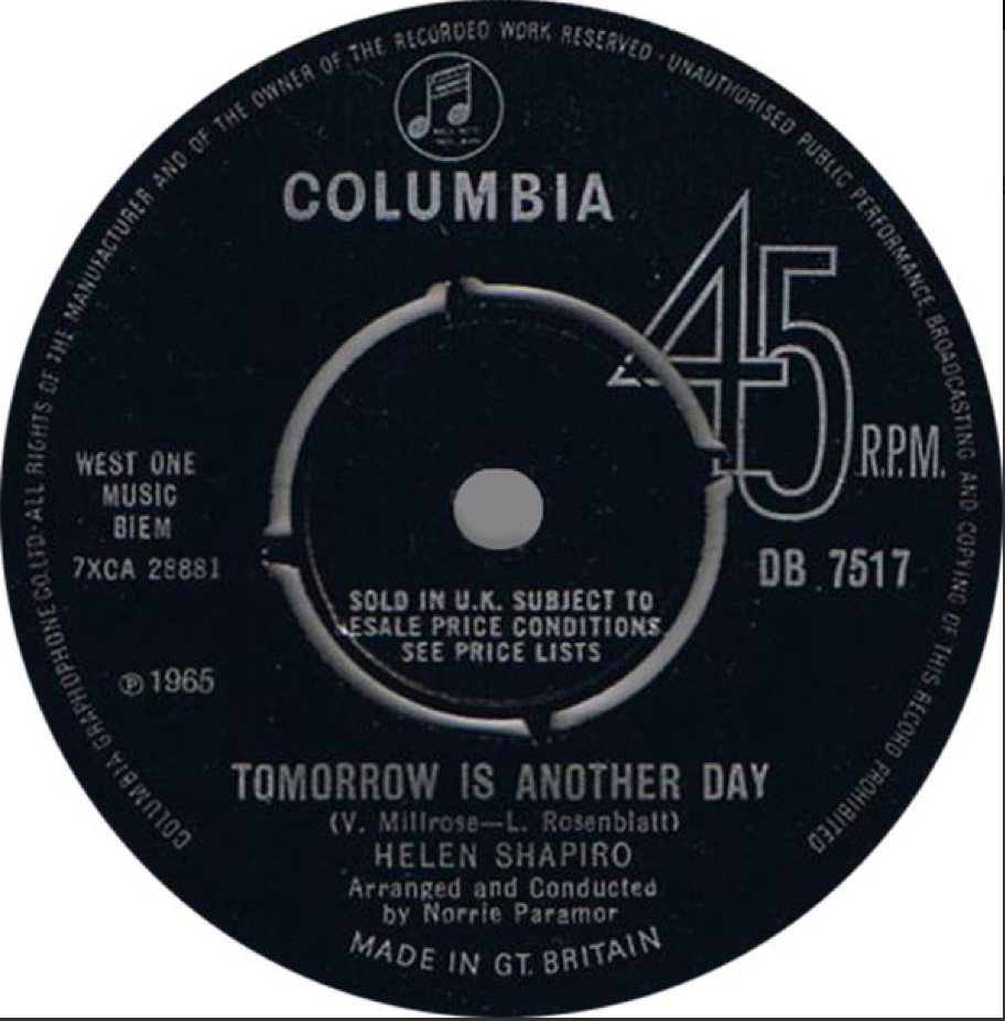 Helen Shapiro - Tomorrow Is Another Day