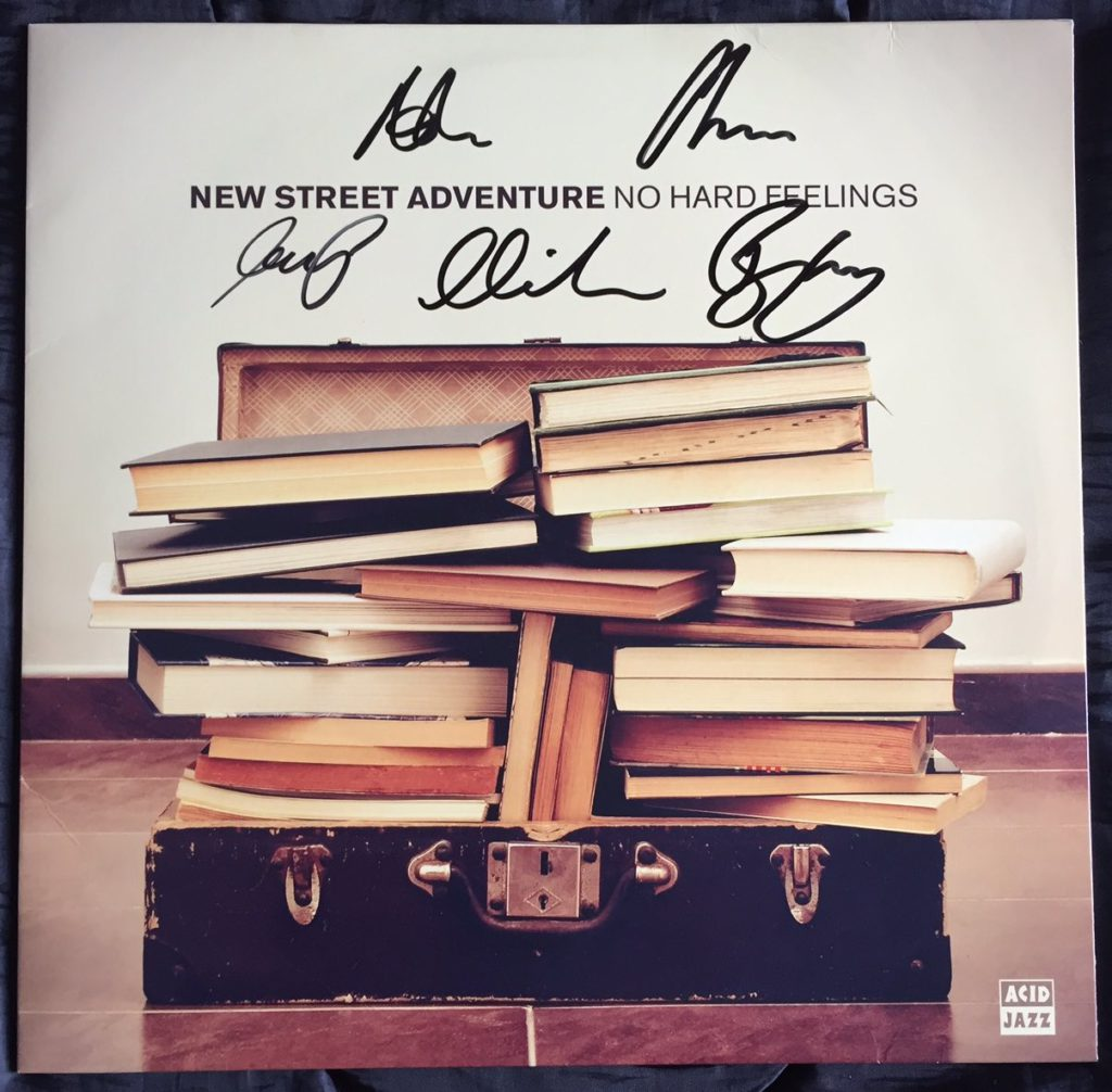 New Street Adventure - Be Somebody (Acid Jazz LP)