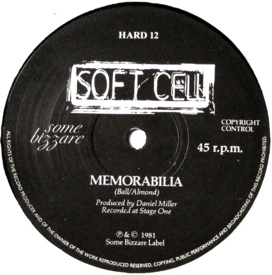 Soft Cell - Memorabilia