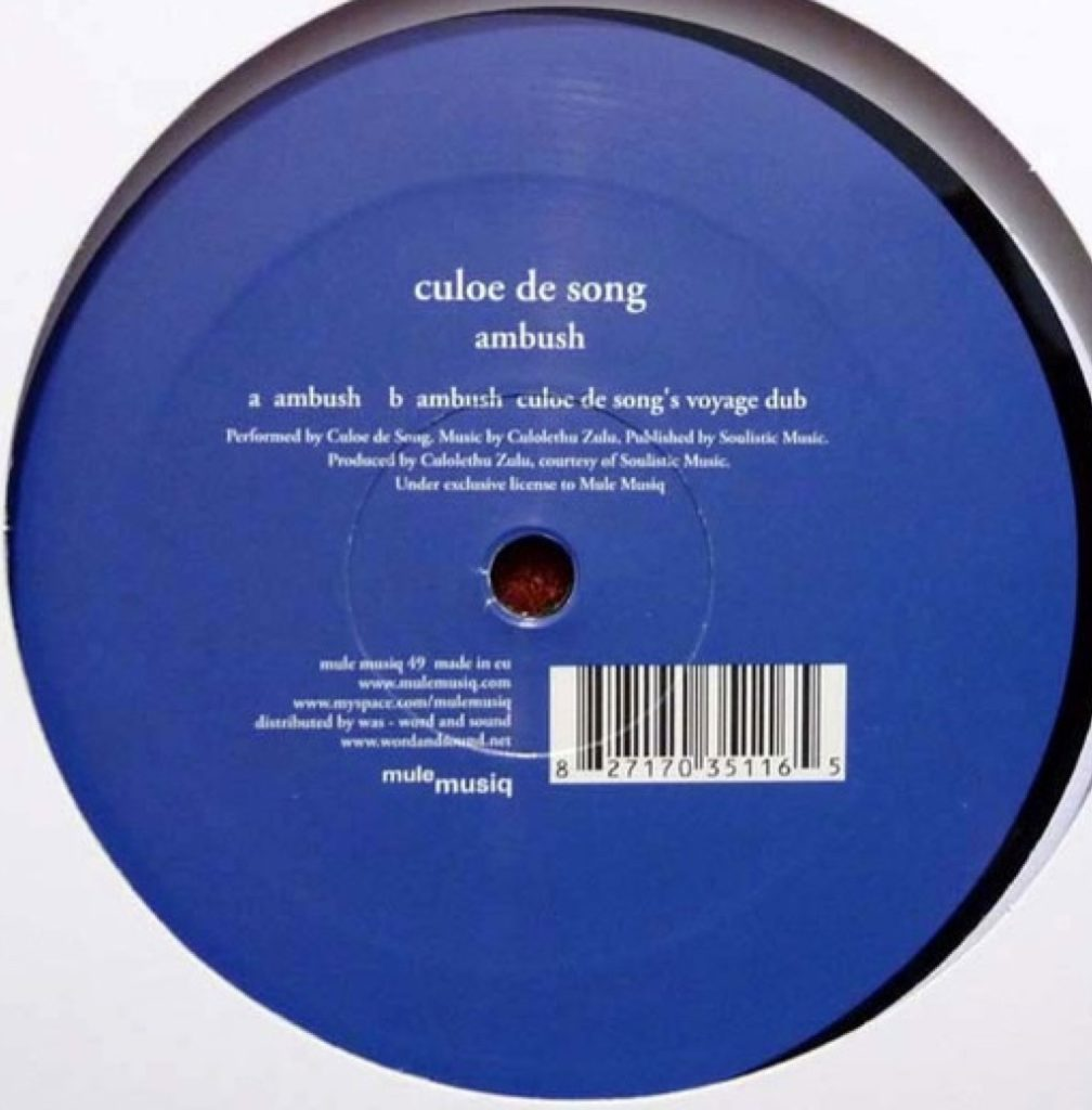 Culoe De Song - Ambush