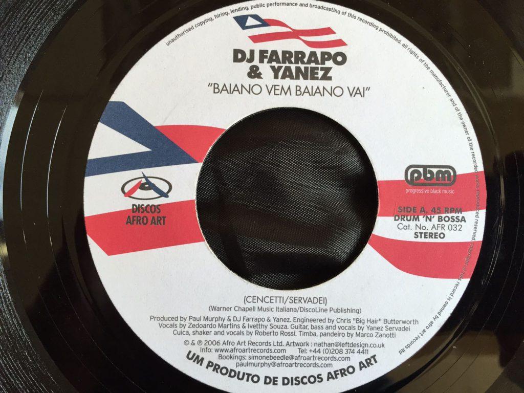 DJ Farrapo & Yanez - Baiano Vem Baiano Vai