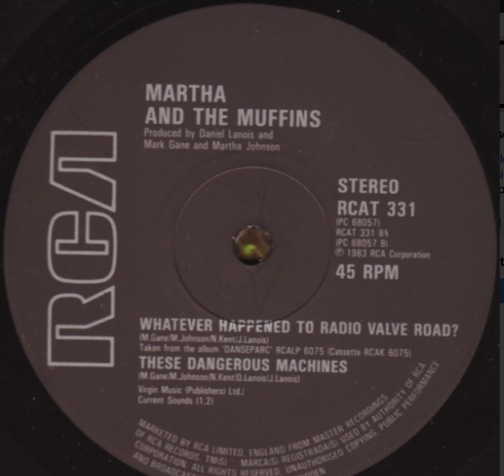 Martha and the Muffins - These Dangerous Machines