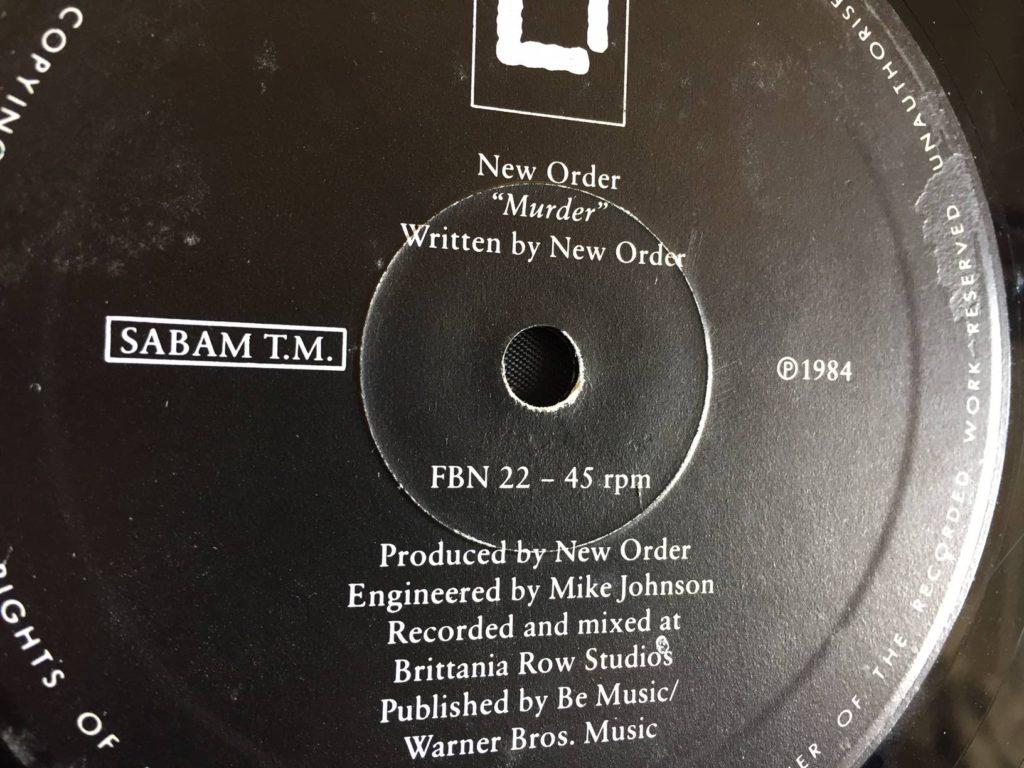 New Order - Murder