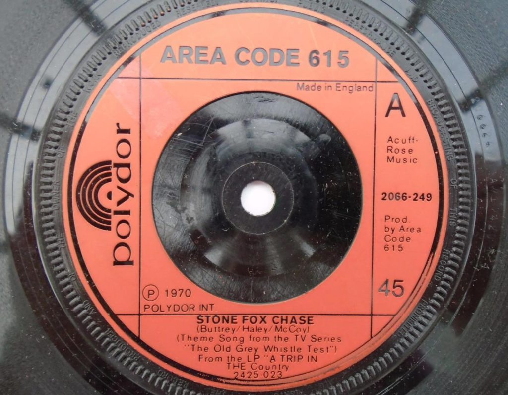 Area Code 615 - Stone Fox Chase