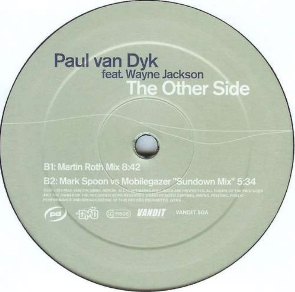 Paul Van Dyk - The Other Side (Mark Spoon vs Mobilegazer Sundown Mix)