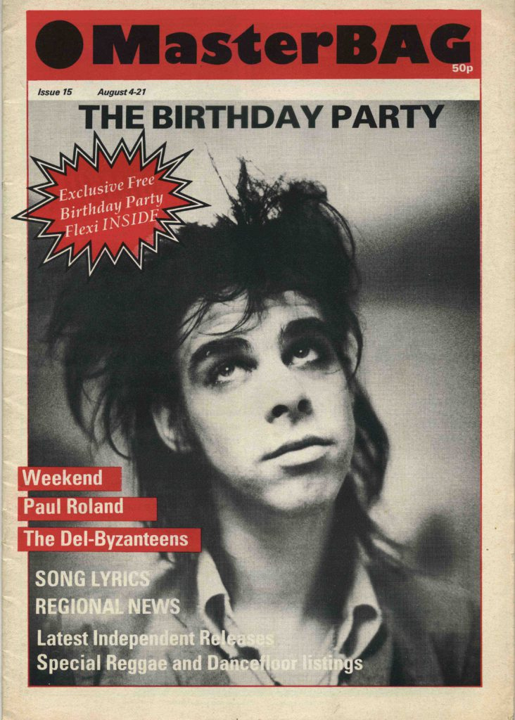Birthday Party, Masterbag cover #15, 4-21.8.82