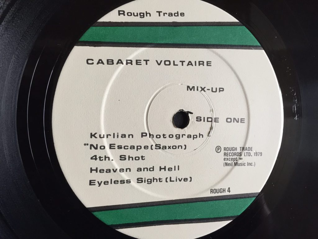 Cabaret Voltaire - No Escape