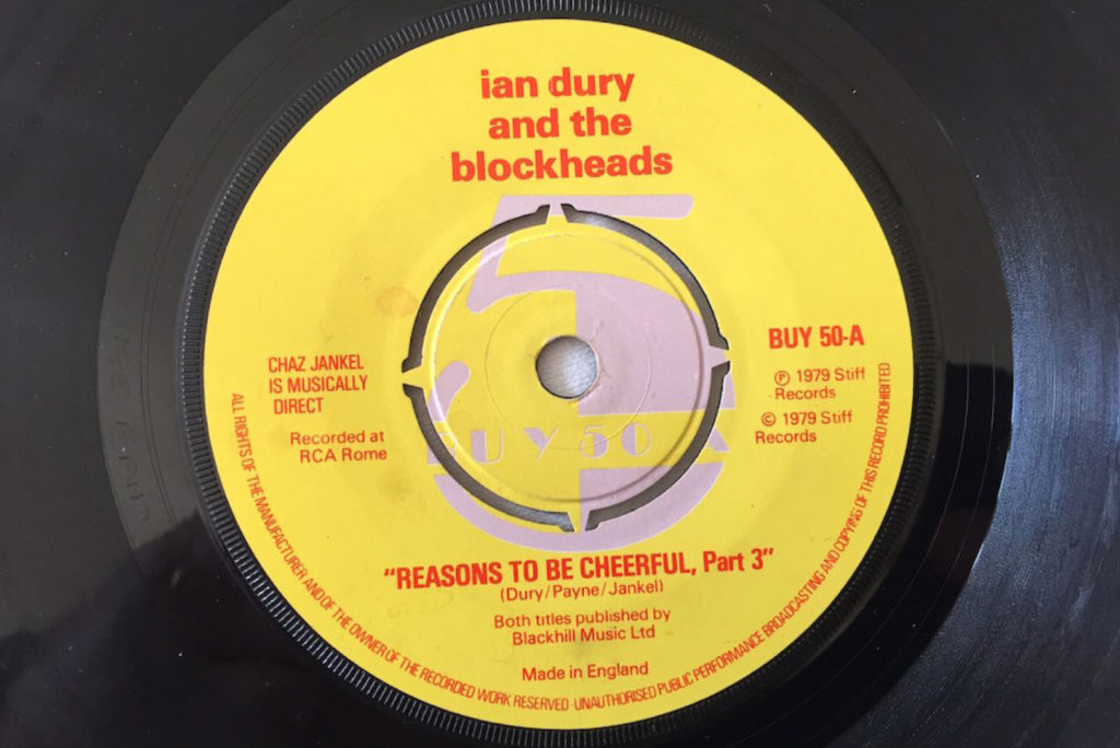 Ian Dury - Reasons To Be Cheerful, Pt 3