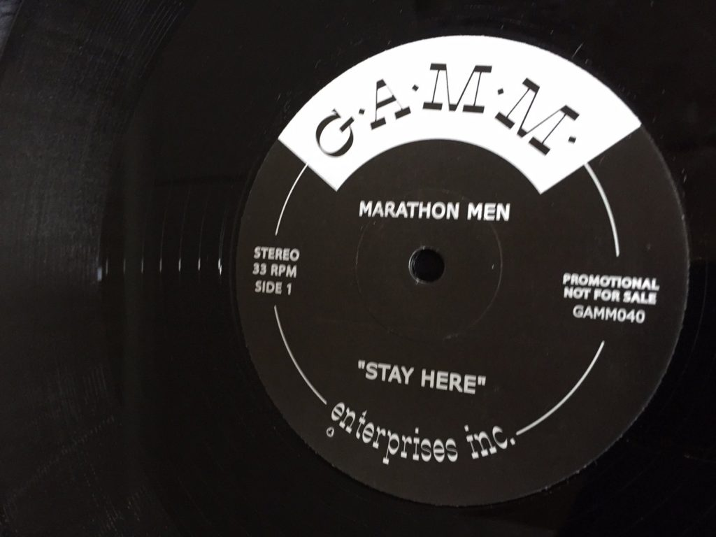 Marathon Men - Stay Here