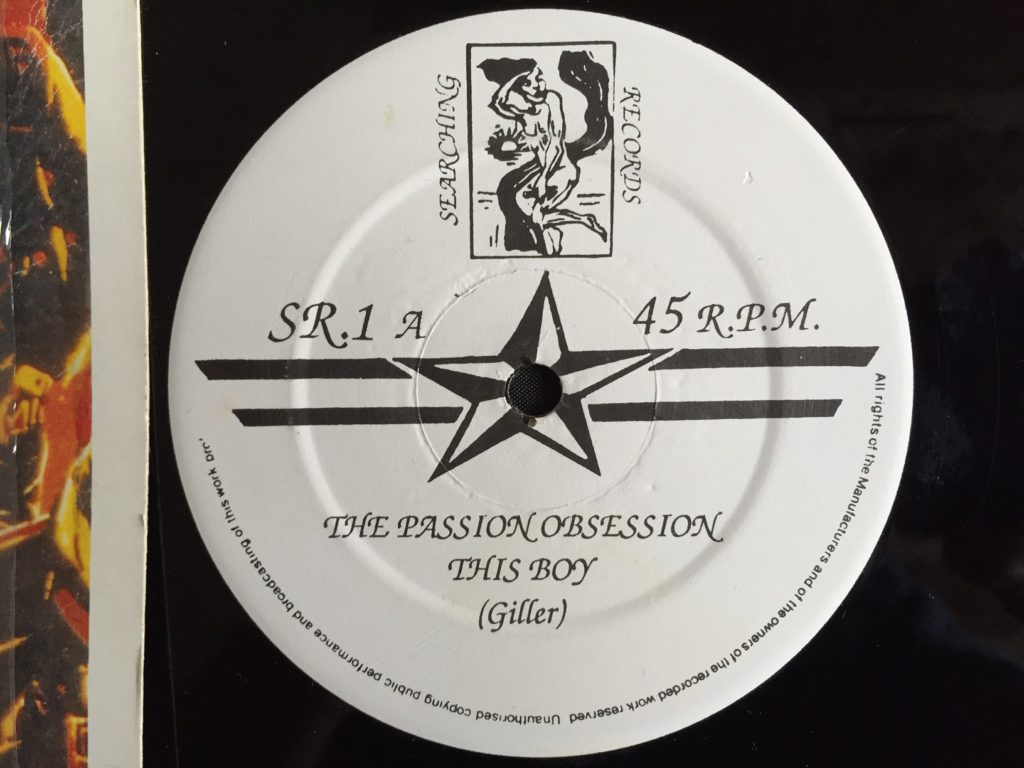 Passion Obsession - This Boy label