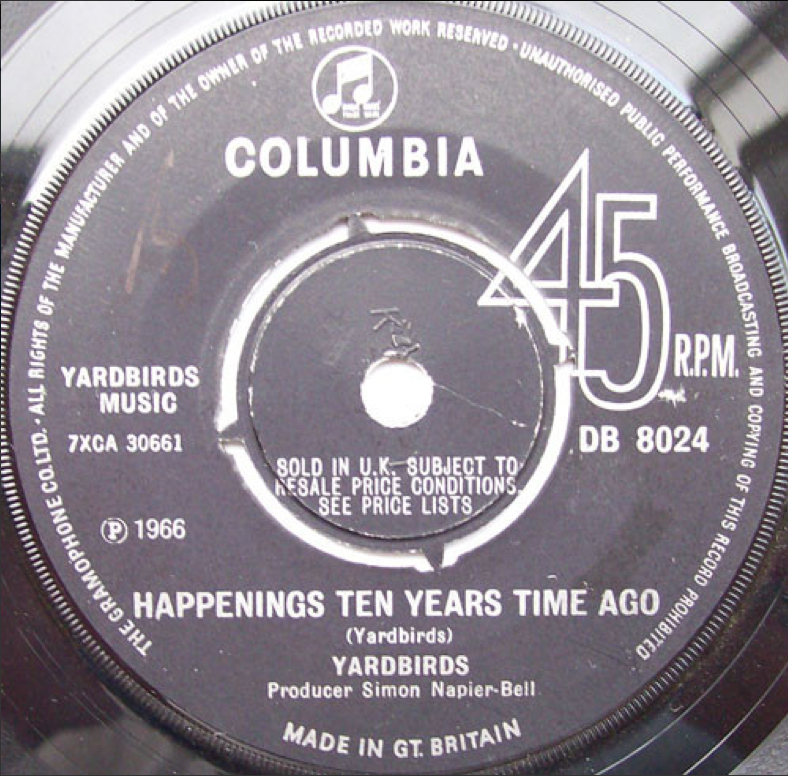 Yardbirds - Happenings Ten Years Time Ago (41 Rooms)