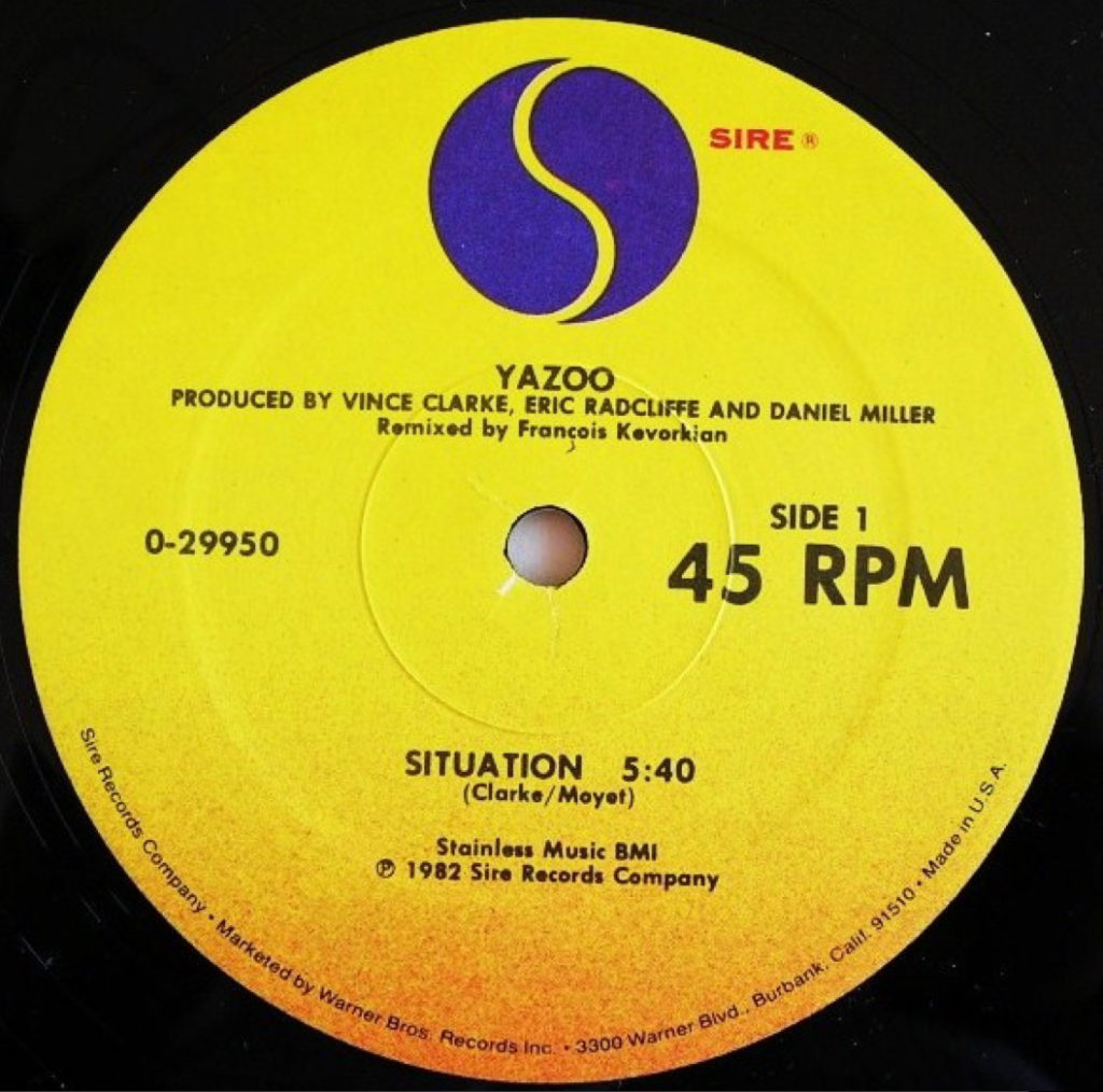 "Yazoo - Situation (US 12"" Mix)"