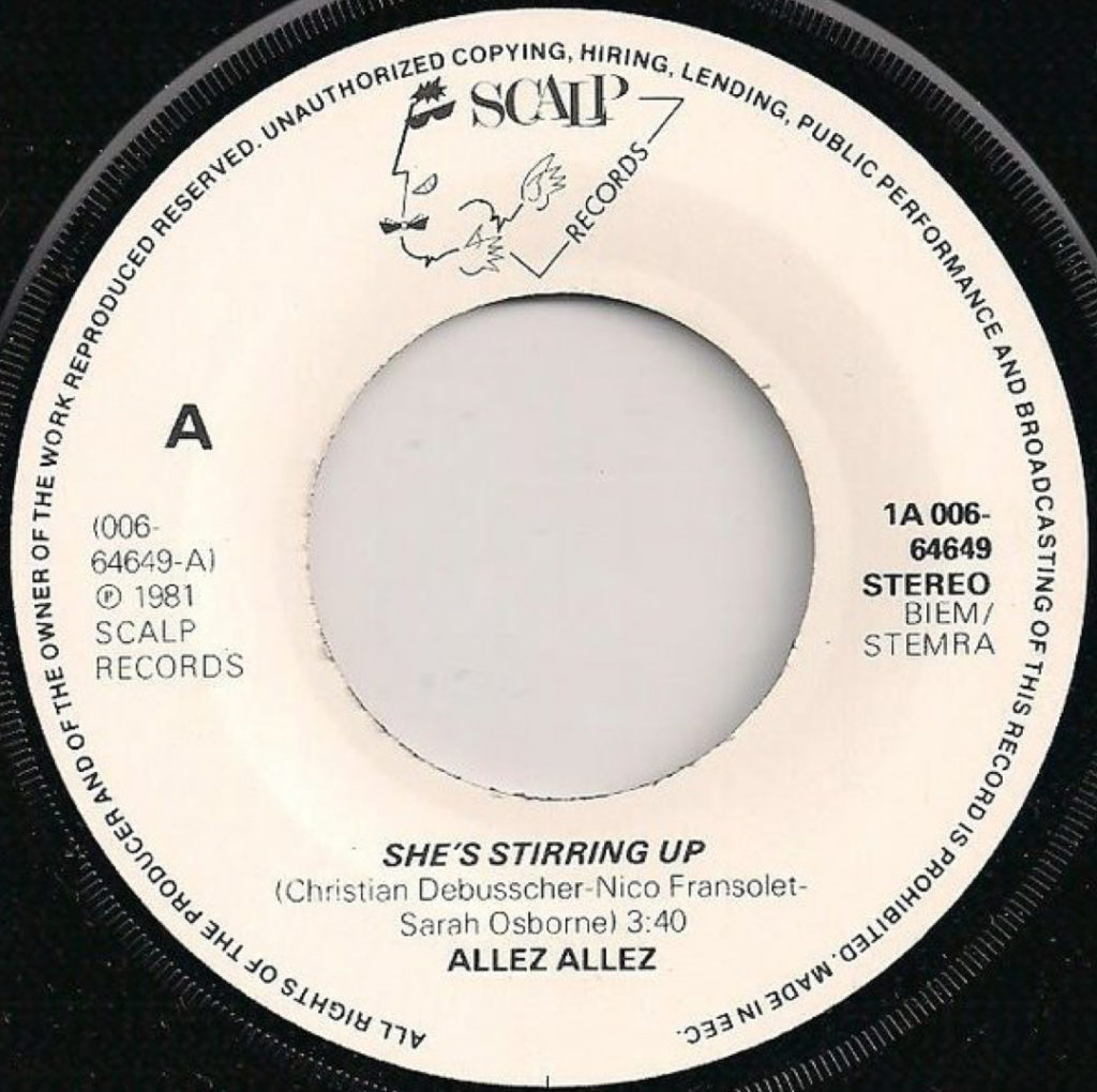 Allez Allez - She's Stirring Up