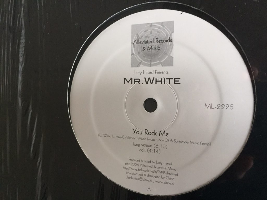 Larry Heard Present Mr White