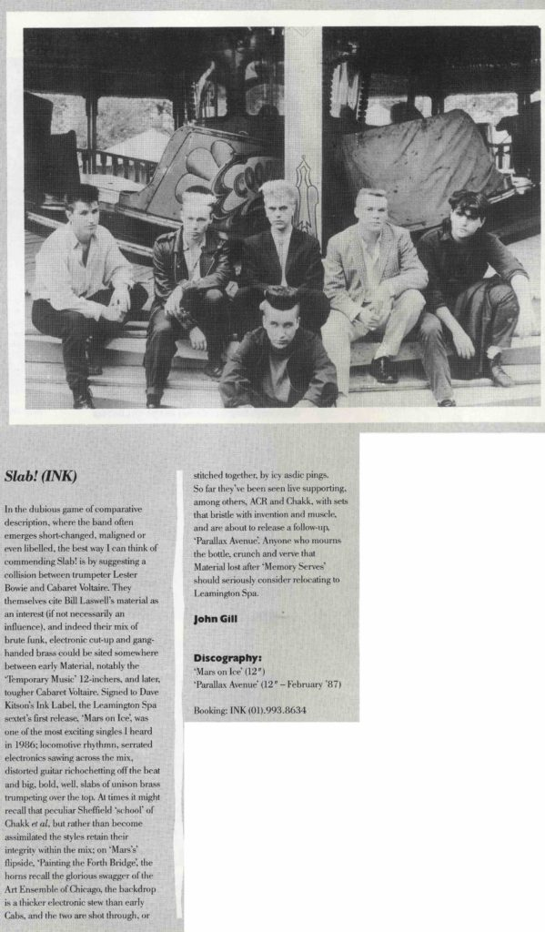 Slab! The Catalogue #45, Feb '87