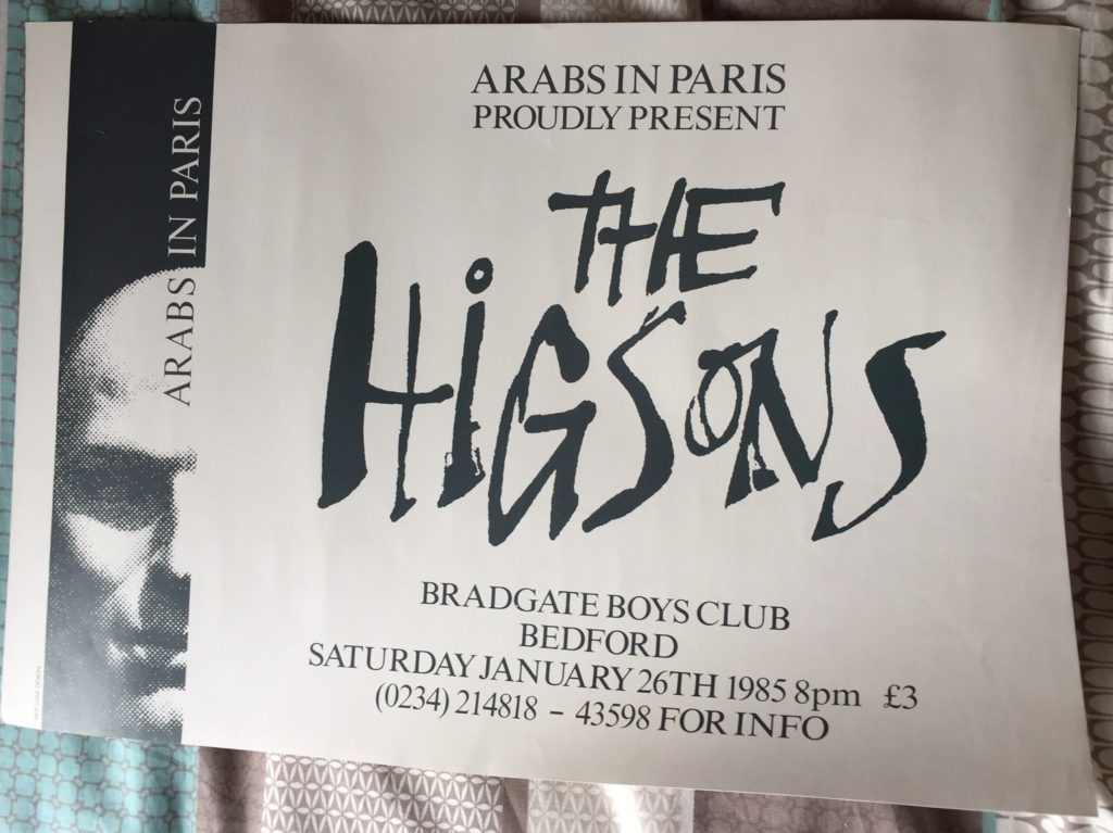 The Higsons - Bedford Poster