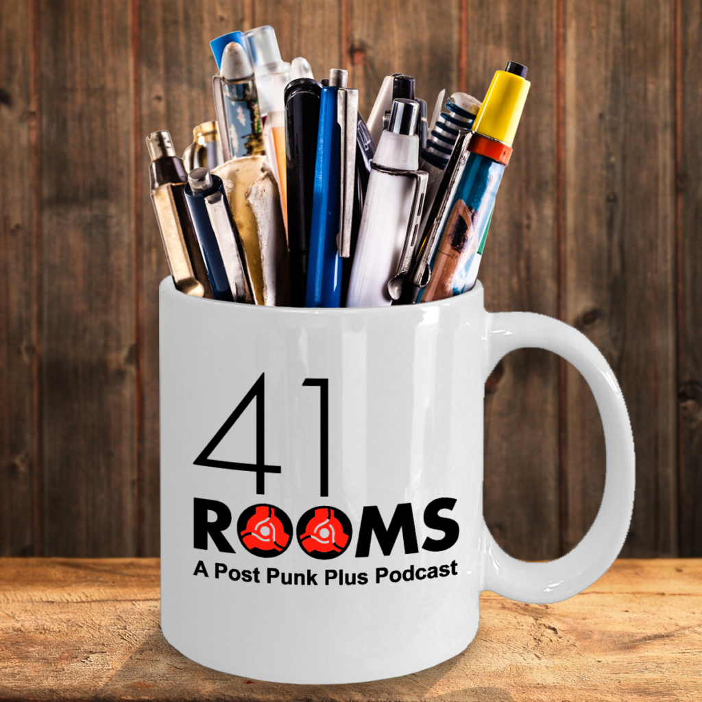 41 Rooms white mug (pens) copy
