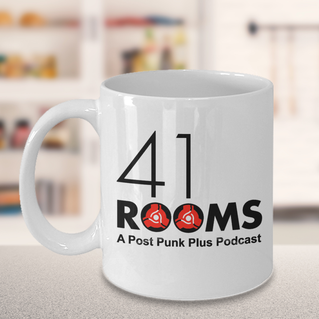 41 Rooms white mug (on counter)