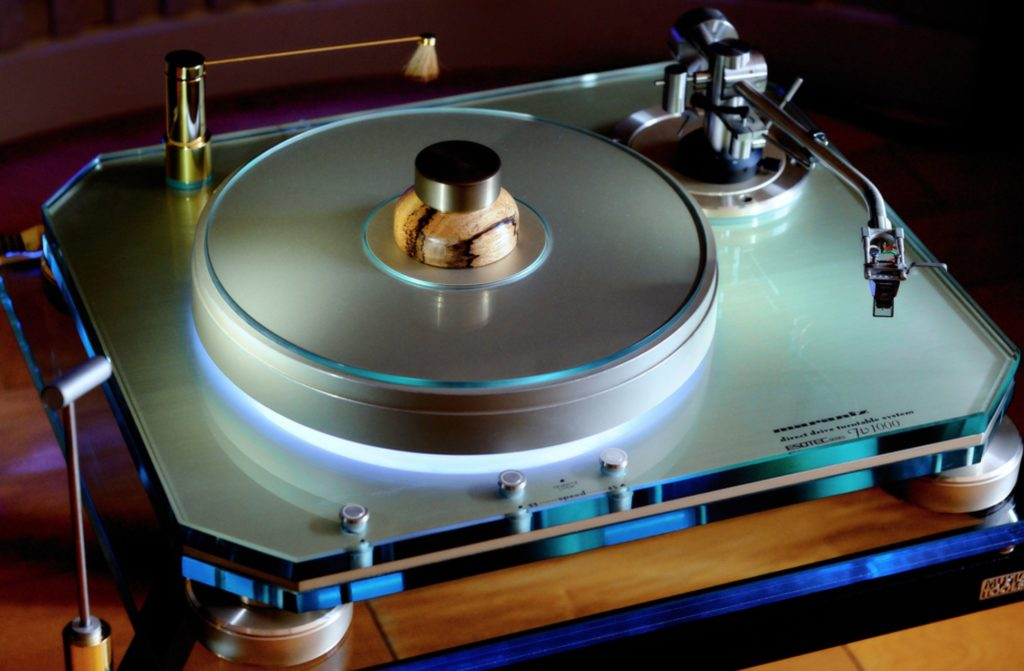 Turntable show 65 - 41 Rooms - Marantz TT-1000 turntable