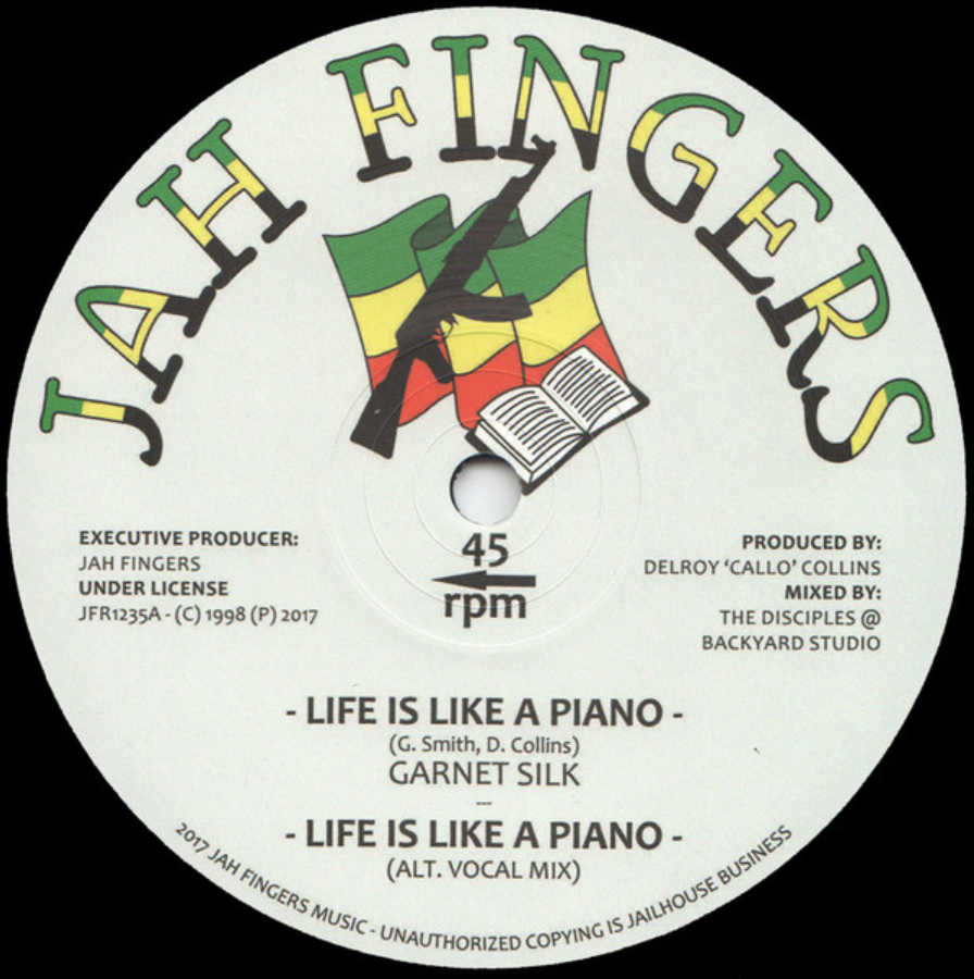 Garnett Silk - Life Is Like A Piano - 41 Rooms - show 69