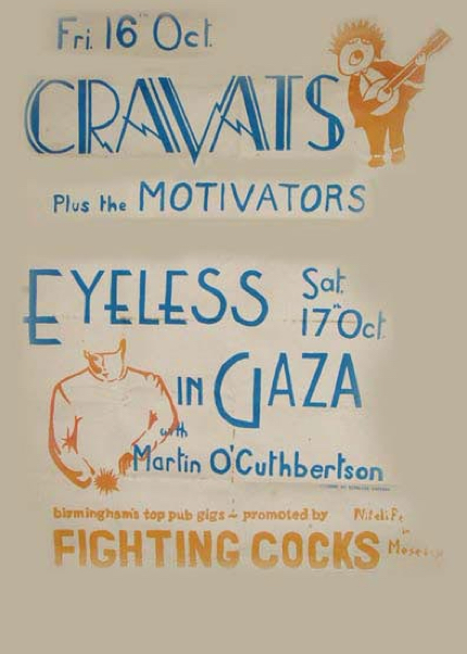 17.10.81 Eyeless In Gaza poster