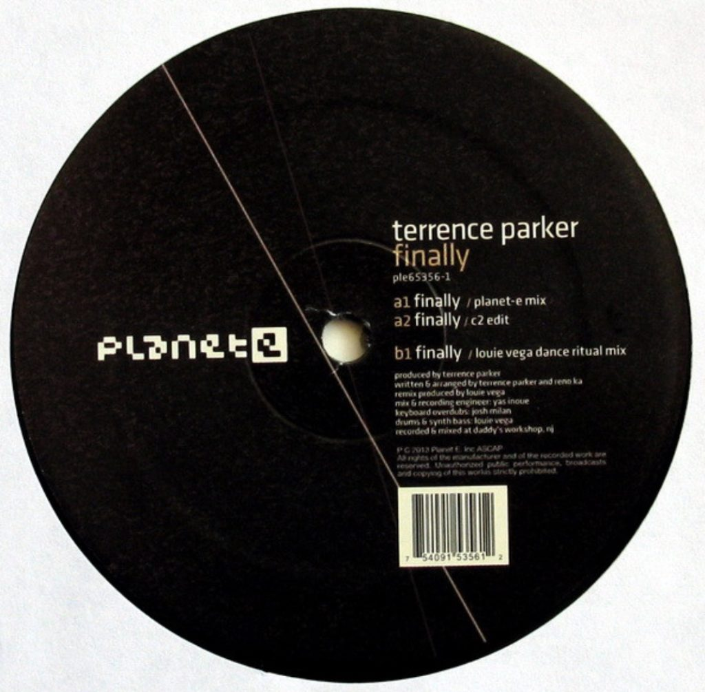 Terrence Parker - Finally (Louie Vega Dance Ritual) - 41 Rooms - show 70