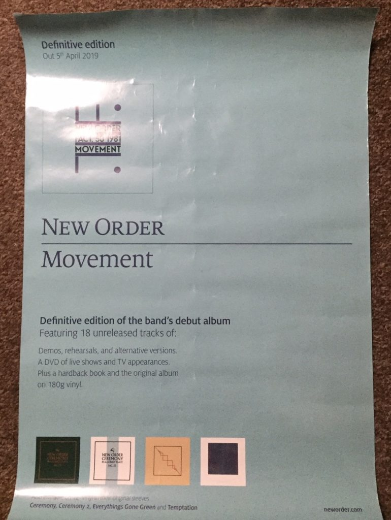 New Order - Movement Definitive Boxset poster - 41 Rooms - show 73