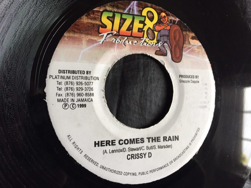 Crissy D - Here Comes The Rain Again - 41 Rooms - show 77