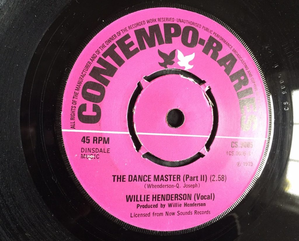 Willie Henderson - The Dance Master (Pt 2) - 41 Rooms - show 77
