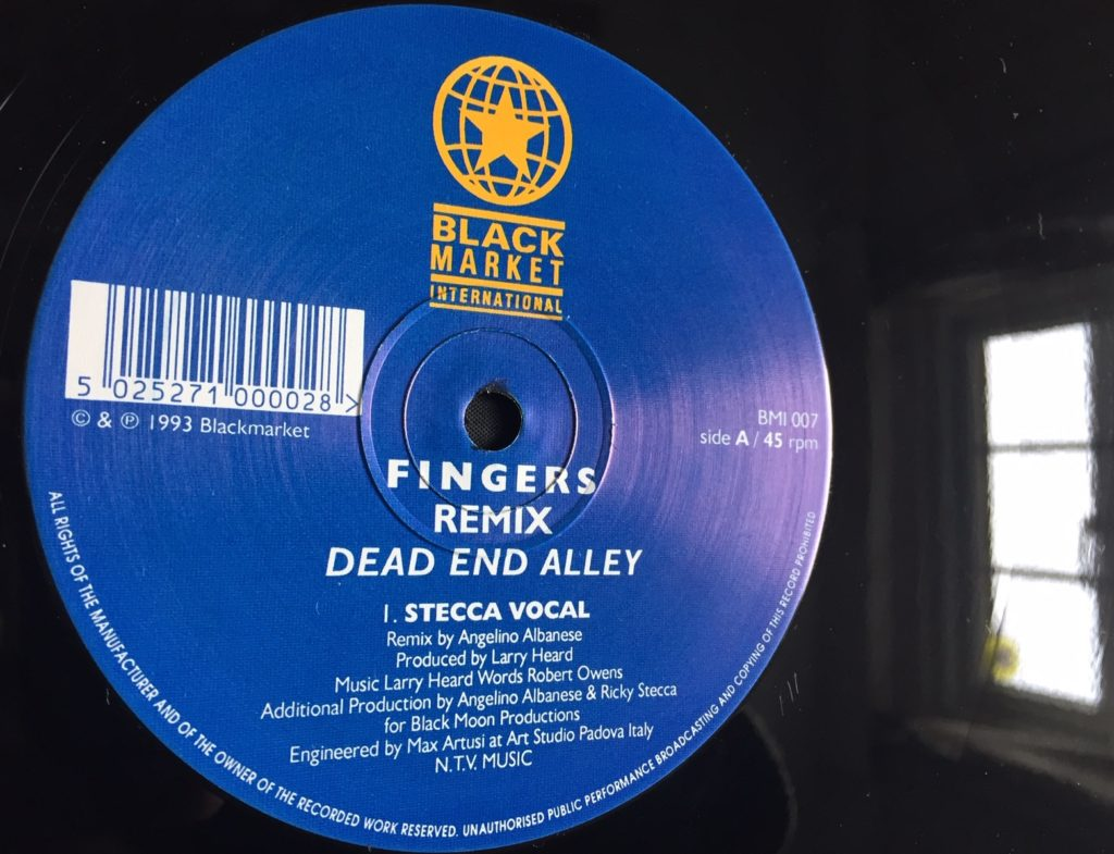 Fingers - Dead End Alley (Secca Vocal) - 41 Rooms - show 78