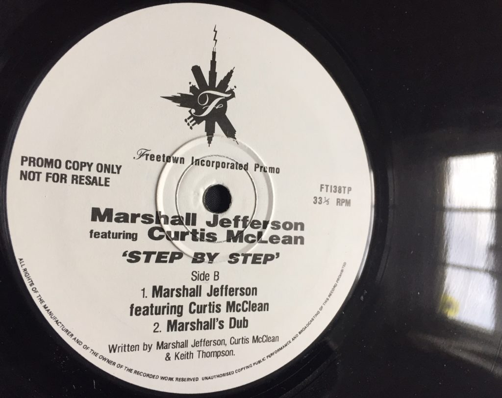 Marshall Jefferson (feat Curtis McClean) - Step By Step (Marshall's Dub) - 41 Rooms - show 78
