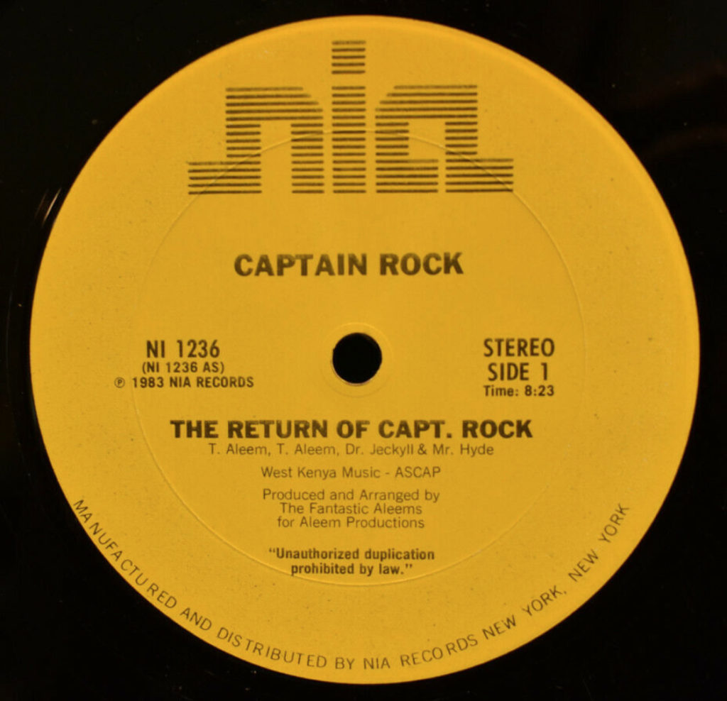 Captain Rock - The Return Of Capt. Rock - 41 Rooms - show 79