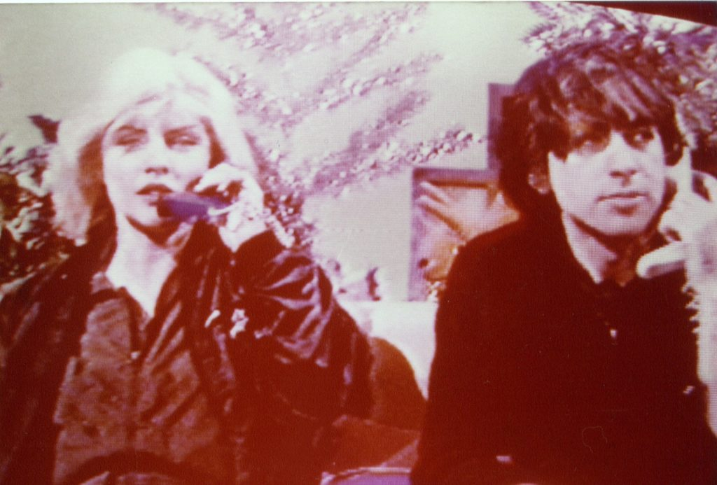 Debbie Harry and Chris Stein (Swapshop) 22.12.79 - 41 Rooms - show 79