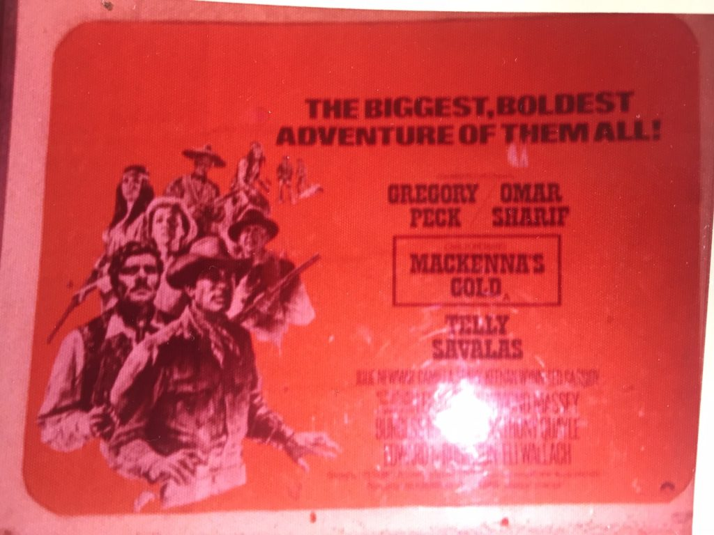 Mackenna's Gold July '76 Irish cinema poster - 41 Rooms - show 82