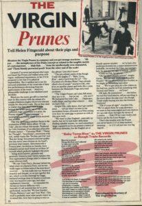Virgin Prunes, Masterbag #18, Autumn '82