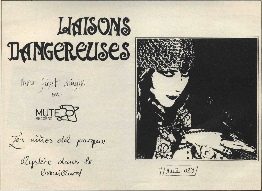 Liaisons Dangereuses ad (Masterbag #10, 27.5-9.6.82) - 41 Rooms - show 83