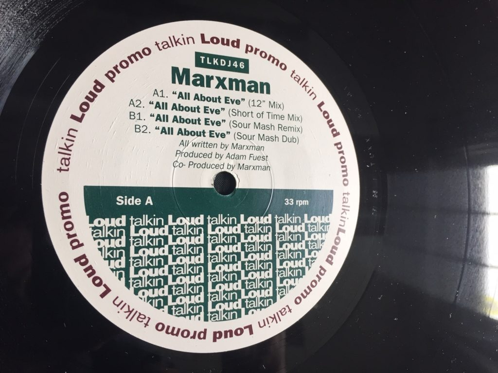 Marxman - All About Eve (12 Mix) - 41 Rooms - show 83