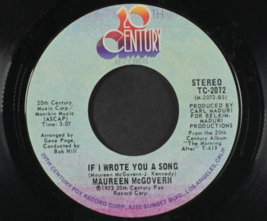 Maureen McGovern - If I wrote You A Song - 41 Rooms - Show 83
