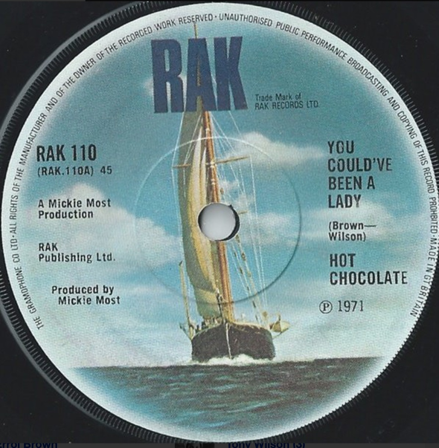 Hot Chocolate - You Could've Been A Lady - 41 Rooms - show 86