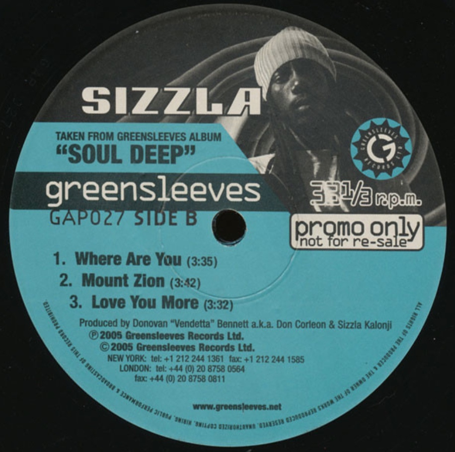 Sizzla - Love You More - 41 Rooms - show 86