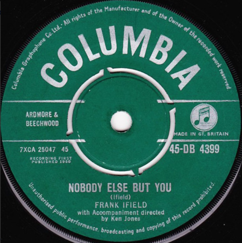 Frank Ifield - Nobody Else But You - 41 Rooms - show 87
