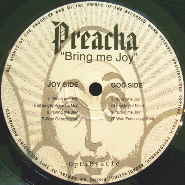 Preacha - Bring Me Joy (T-Wac Garage Vox Mix) - 41 Rooms - show 87